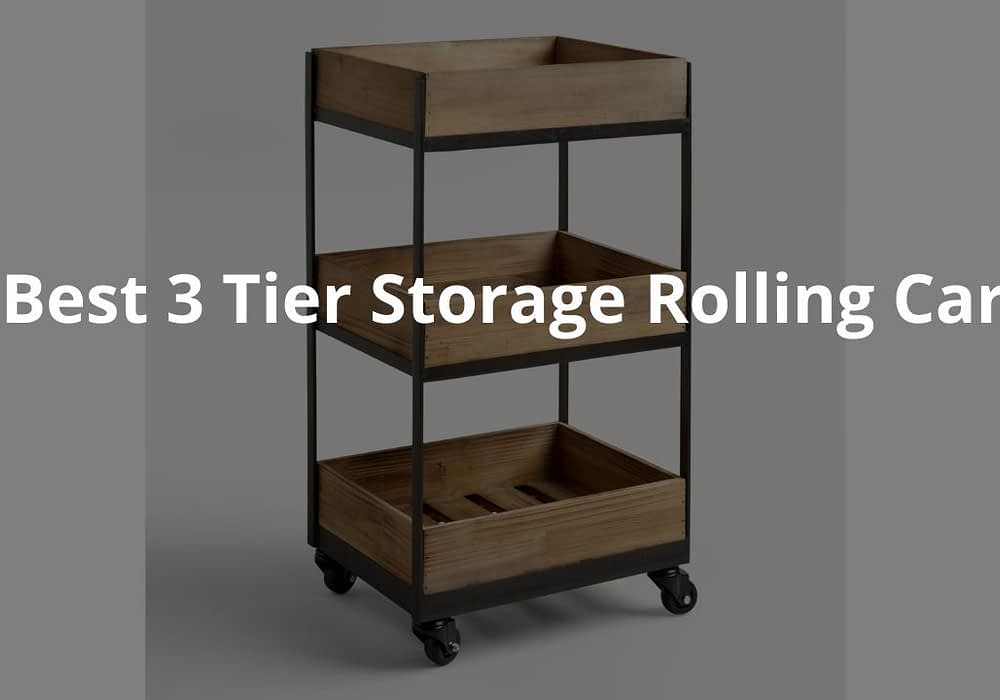 Best 3 Tier Storage Rolling Carts