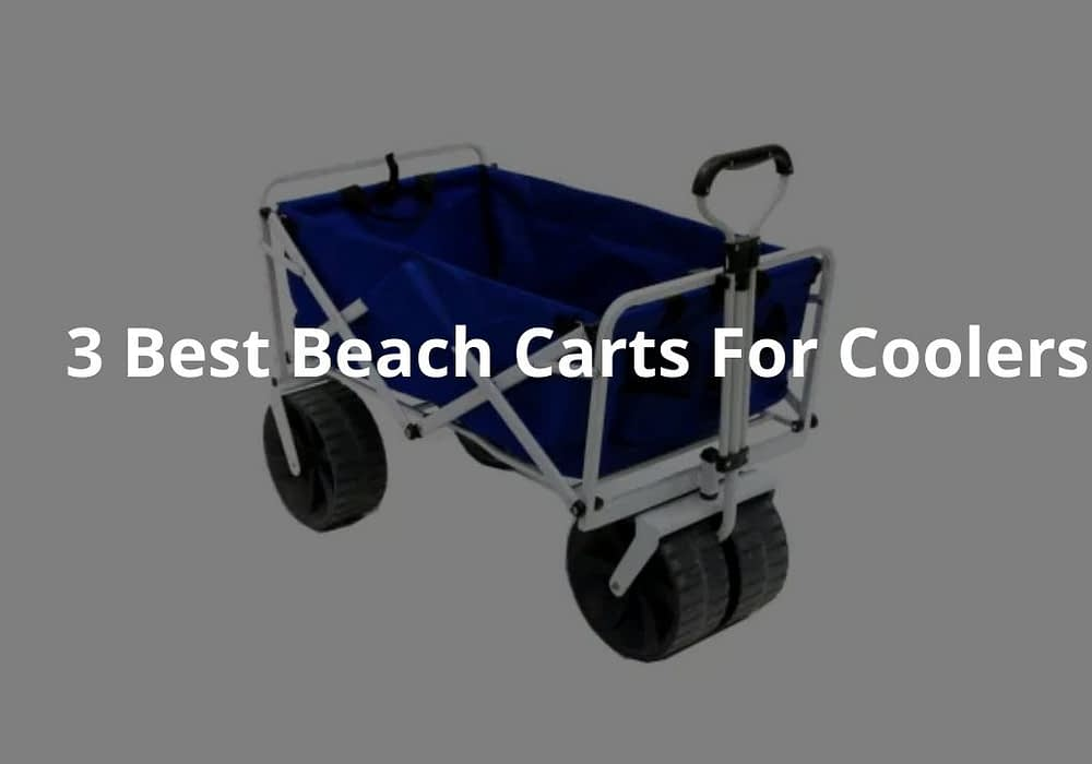 3 Best Beach Carts For Coolers