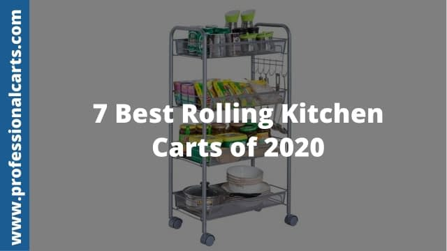 ProfessionalCarts - Best Rolling Kitchen Carts of 2020