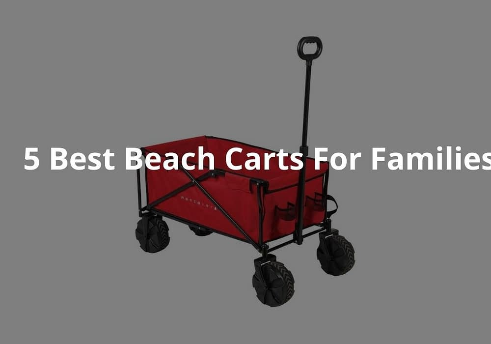 5 Best Beach Carts For Families