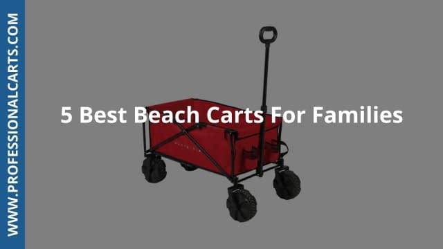 ProfessionalCarts -5 Best Beach Carts For Families