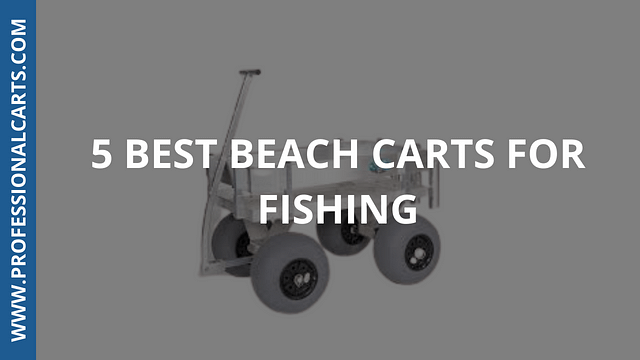 ProfessionalCarts -5 Best Beach Carts For Fishing