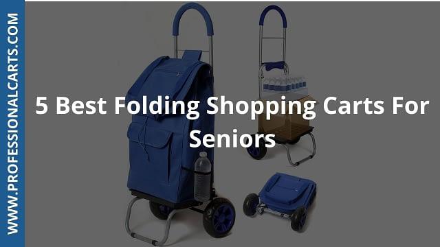 ProfessionalCarts - 5 Best Folding Shopping Carts For Seniors