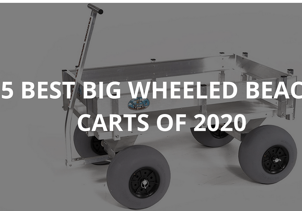 5 Best Big Wheeled Beach Carts of 2020
