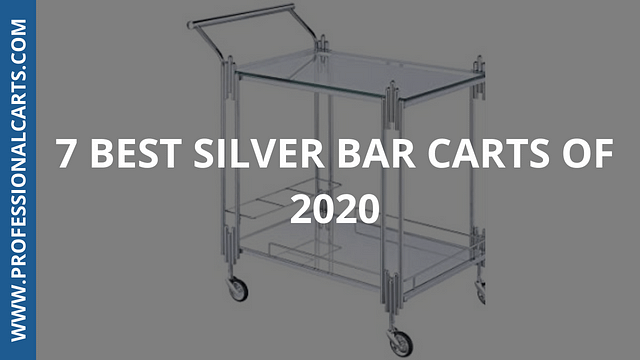 ProfessionalCarts - 7 Best Silver Bar Carts of 2020