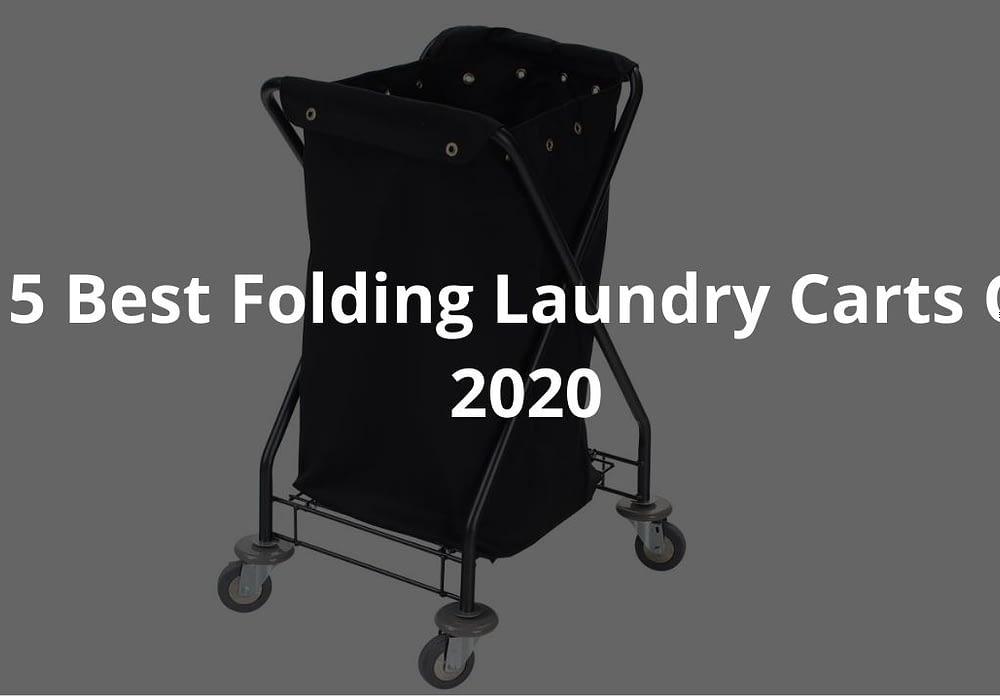 5 Best Folding Laundry Carts Of 2020