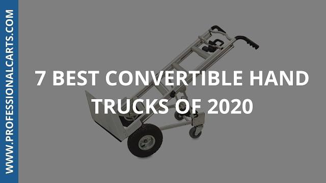 ProfessionalCarts - 7 Best Convertible Hand Trucks Of 2020