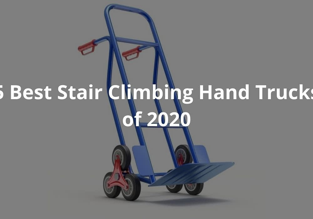 5 Best Stair Climbing Hand Trucks of 2020