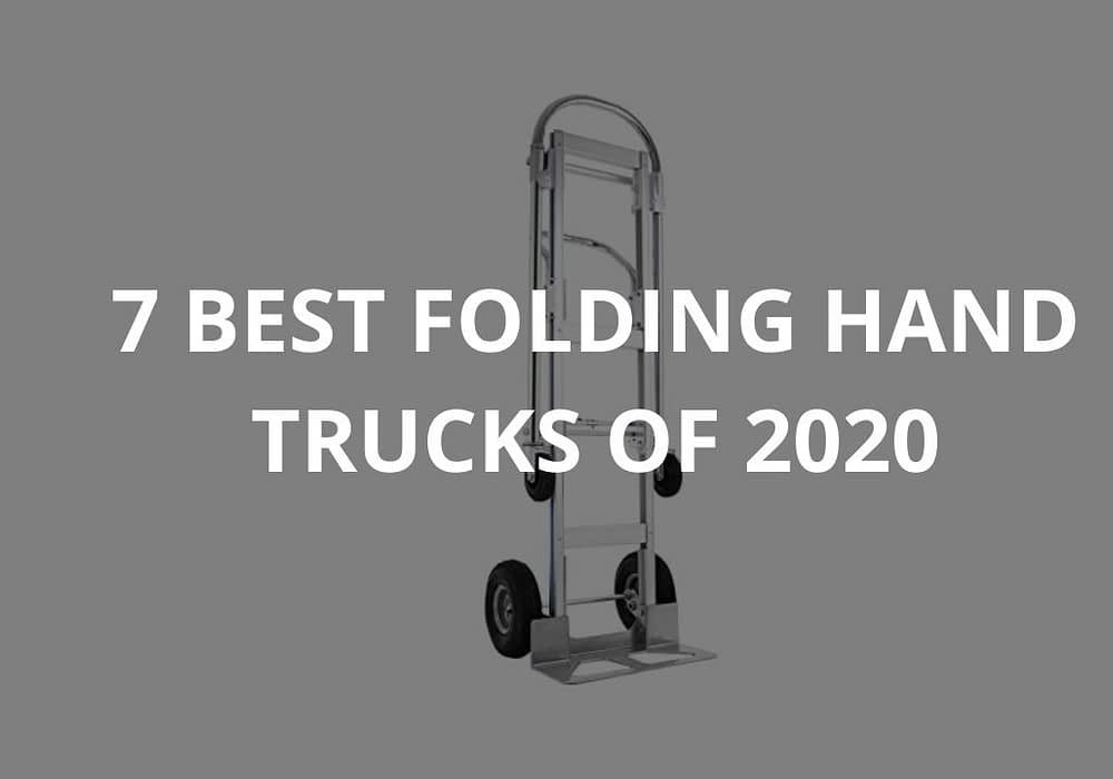 7 Best Folding Hand Trucks Of 2020