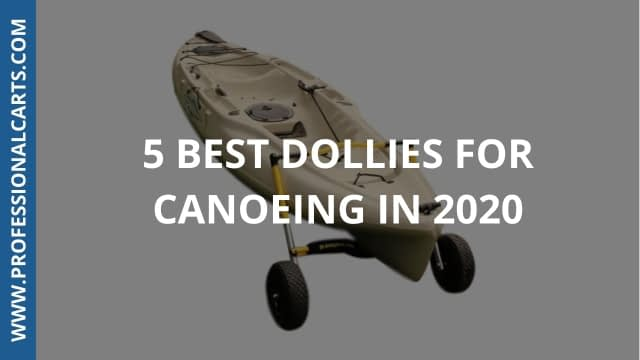 ProfessionalCarts - 5 Best Dollies For Canoeing In 2020