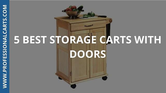 ProfessionalCarts - Best Storage Carts With Doors