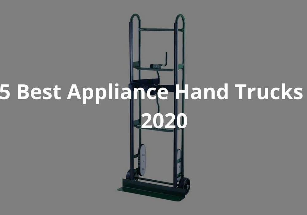 5 Best Appliance Hand Trucks of 2020