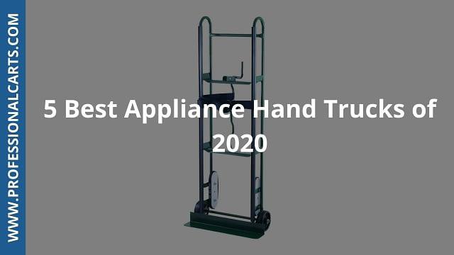 ProfessionalCarts - 5 Best Appliance Hand Trucks of 2020